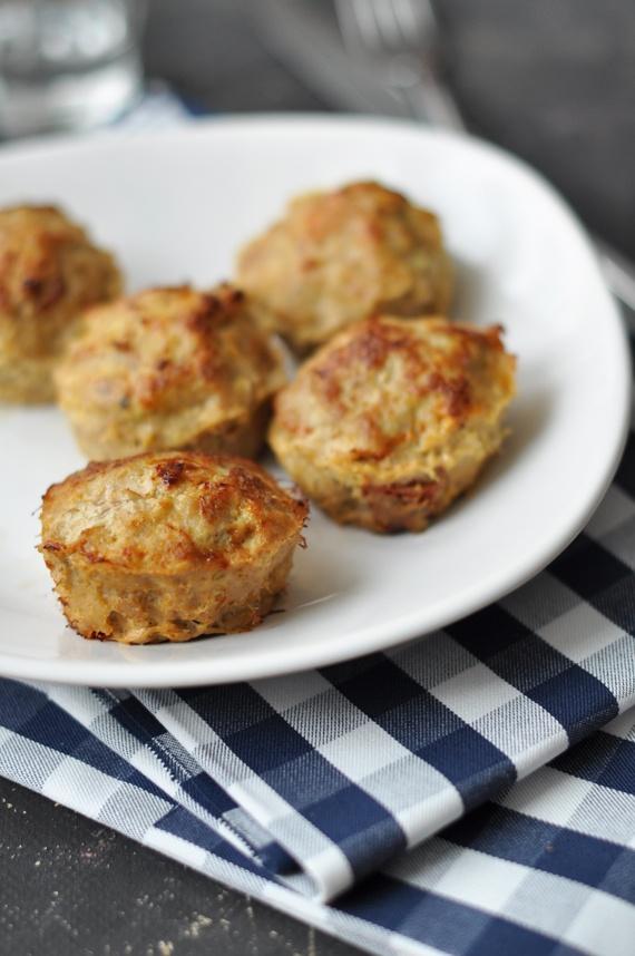 Fetás-szárított paradicsomos muffinfasírtok | Csak a Puffin ad Neked erőt