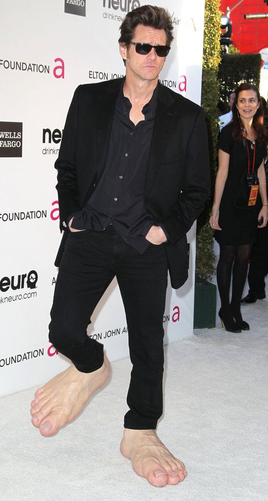 Jim Carrey on oscars after party     $ BUY ➜ http://shoespost.com/jim-carrey-oscars-party/