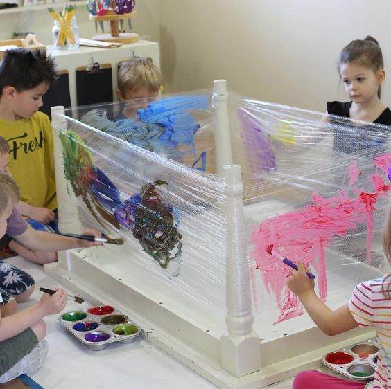 open-ended art will allow children to demonstrate exactly what is important to t…