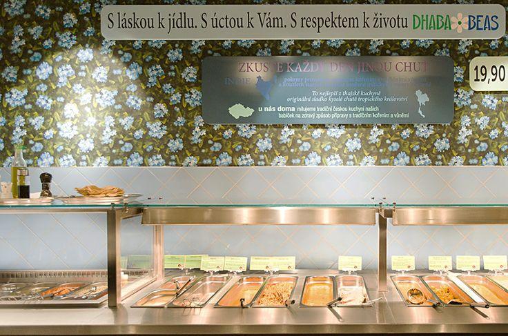 DHABA BEAS - fast vegetarian food. Cheap! You can find it in 5 different places in the city centre: Vladislavova, Bělehradská, Na Poříčí, Sokolovska, Tynska. http://www.beas-dhaba.cz/en