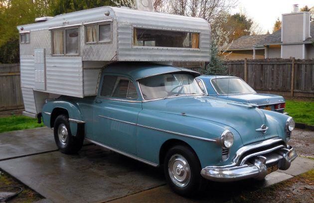 Rocket Camper! Converted 1950 Oldsmobile 88