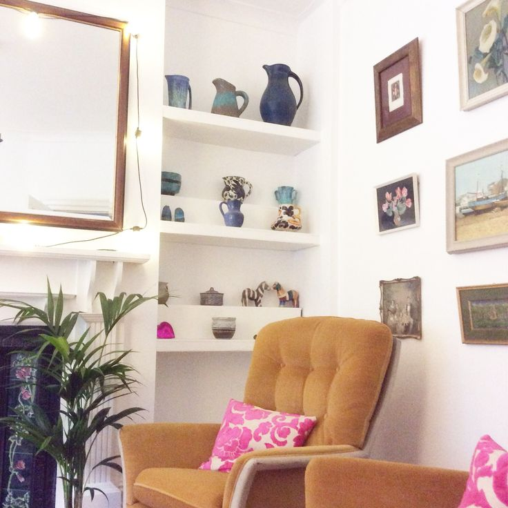 Corner of our cosy sitting room #boho home