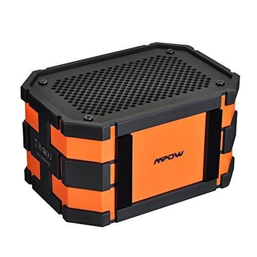 Oferta: 21.99€ Dto: -45%. Comprar Ofertas de Mpow Armor Altavoz Inalámbrico, Estéreo Bluetooth 4.0 Resistente al Agua IPX65 Impermeable, Altavoces Integrados, Batería de barato. ¡Mira las ofertas!