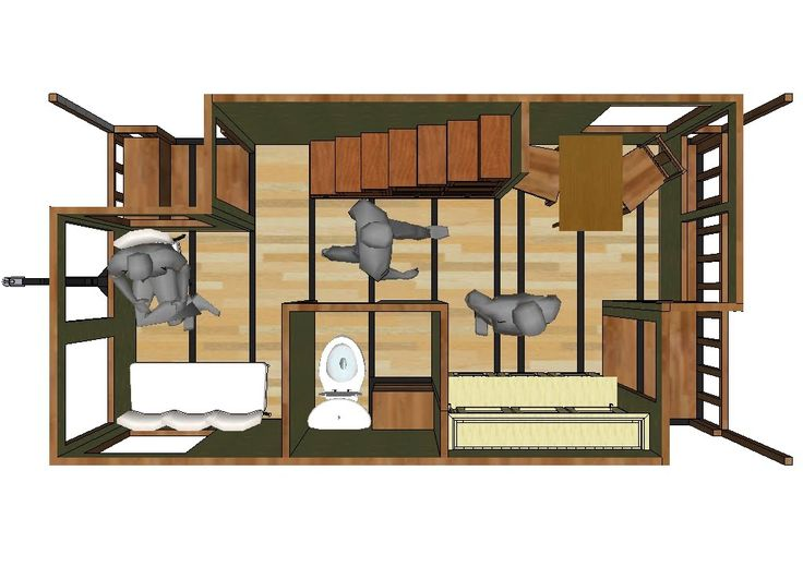 Best Small House Trailer Floor Plans Images - 3D house designs ...