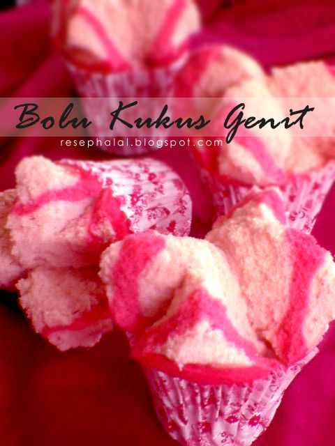 Bolu Kukus Genit - Steamed cake
