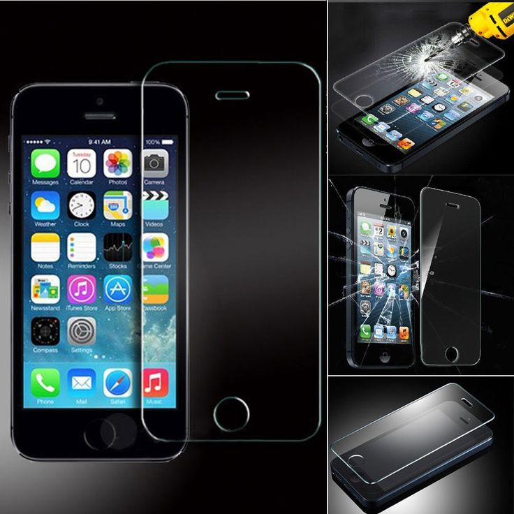 Use tempered glass for extra protection of your #iPhone5 screen.