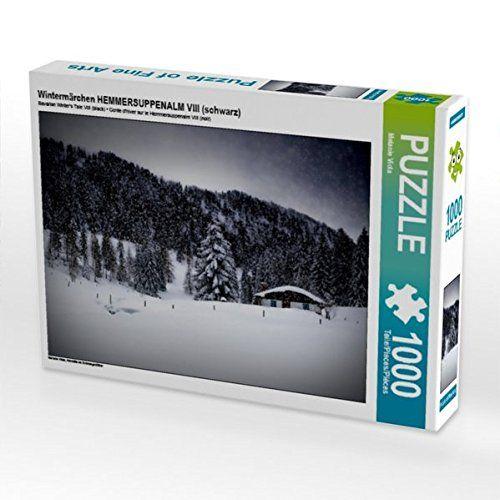 Wintermärchen HEMMERSUPPENALM VIII (schwarz) 1000 Teile P... https://www.amazon.de/dp/B01LF0U5IA/ref=cm_sw_r_pi_dp_x_zpBoybNX271BX #Puzzle #Geschenk #gift #Spielzeug #Winter #Schnee #Landschaft #Bayern #Alm #Winterlandschaft #idyllisch #Wald