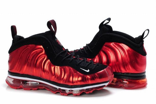 foamposites max metallic red