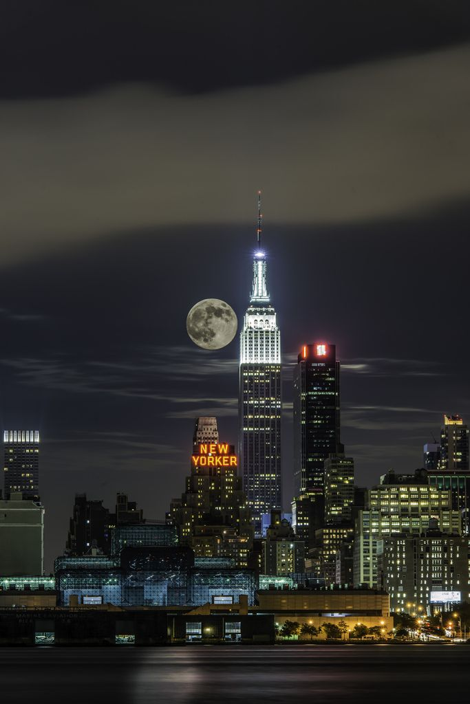 """If you get caught between the moon and New York City... the best that you can do is fall in love."""