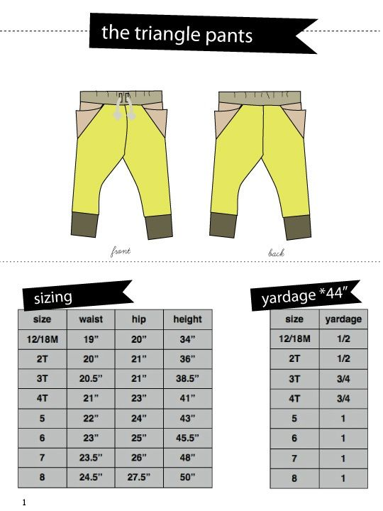 PDF pattern ............................ The TRIANGLE pants are a loungy, comfy slim pant with ankle cuffs and an elastic waistband. The main featu...