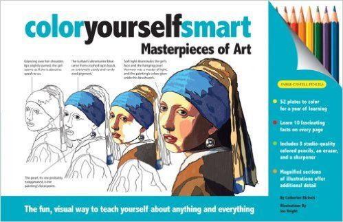 Color Yourself Smart Masterpieces Of Art
