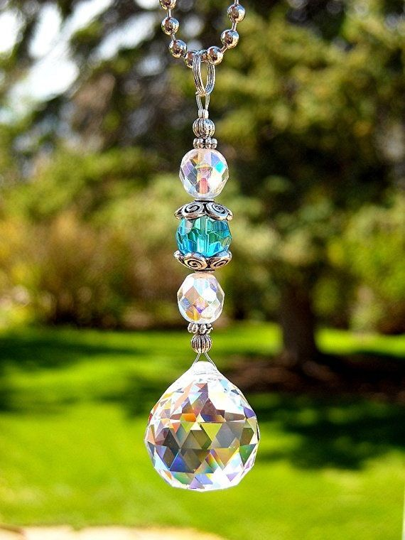 Crystal prism sun catcher