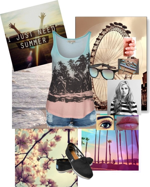 """summer"" by hipsterfashion-929 ❤ liked on Polyvore"