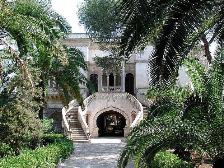 "Arabic ""villa"" in Santa Caterina di Nardò, Salento, the heel of Italian boot."