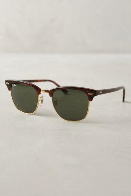 413993de1413 Ray-Ban Clubmaster Sunglasses Brown Motif All Eyewear  anthrofave