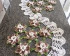 Trilho de mesa flor de lotus