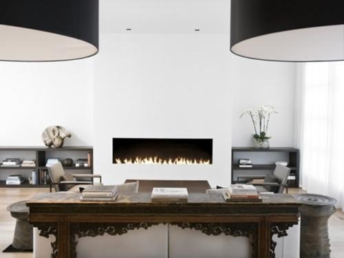 :: FIREPLACES:: simple yet elegant #fireplaces #interiors