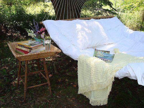 hammock. Hallelujah