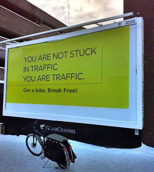 you are traffic!