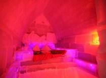 Ice Room at The Ice Hotel, Romania