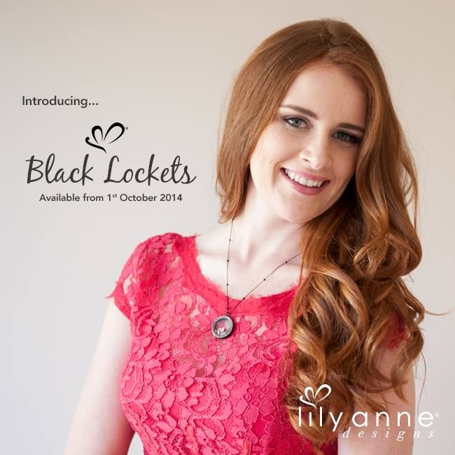 Introducing... BLACK LOCKETS <3 Available from 1st October 2014 #LilyAnneDesigns #PersonalisedLockets #CapturingMoments #FreeToBeMe #BlackLockets