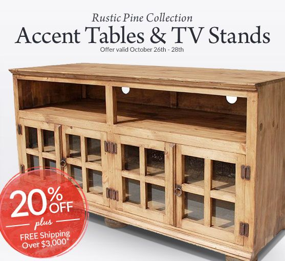 27 best Rustic Pine TV Stands images on Pinterest