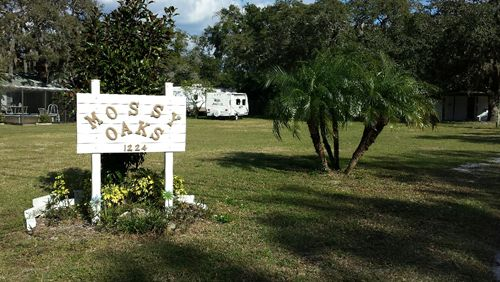 Mossy Oaks Mobile Home And RV Park At Holiday FL