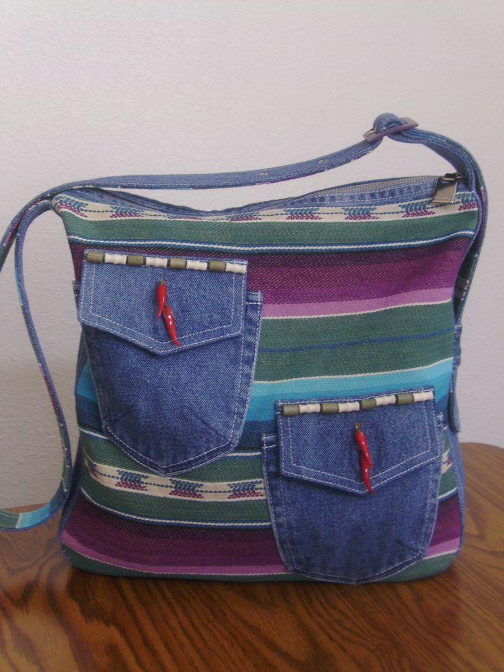 Chili Denim shoulder bag