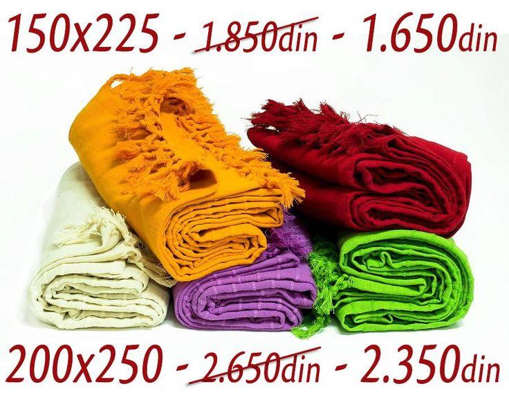 [ ON LINE SHOP ] SNIŽENJE Prekrivača Bandja  http://www.orientemporium.net/product-category/kucni-tekstil/prekrivaci/ Poručivanje putem ON LINE SHOP-a ili putem tel. 011/630-8420 - besplatna dostava