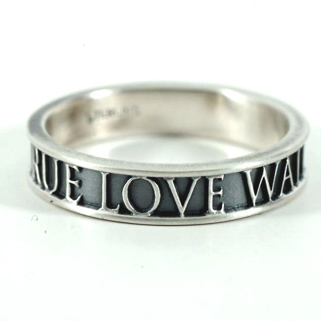 Sterling Silver Purity Ring Band, True Love Waits Ring Size 9 - 9.25, Mens Purity Ring, 1 Timothy 4 1, Christian Purity Ring, Stacking Ring by Spoonier on Etsy