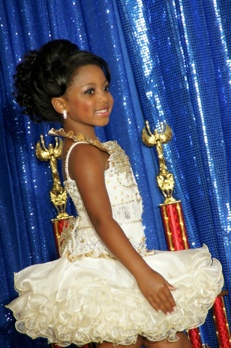 Black Girl Pageant Hairstyles