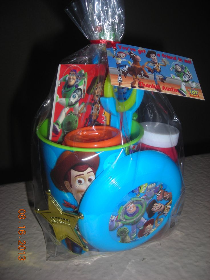 Gift Bag Toys : Toy story gift bags grason s birthday ideas pinterest