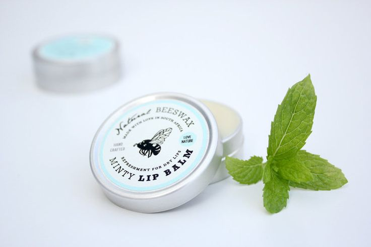 Minty Beeswax Lipbalm by Love Nature