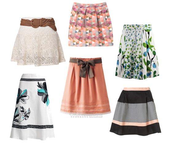 Faldas varios estilos