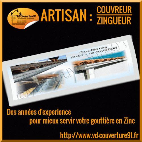http://www.vd-couverture91.fr artisan couvreur zingueur