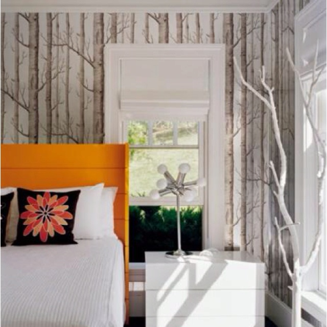 Forest bedroom wallpaper i ♥ home Pinterest Forest