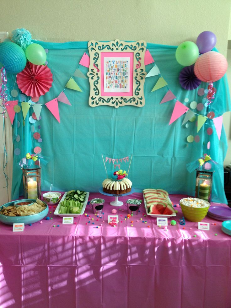 10yr old girl party