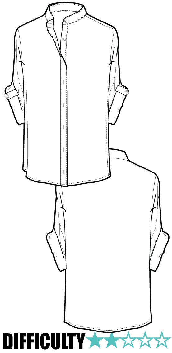 Blouse Drawing And Cutting 58