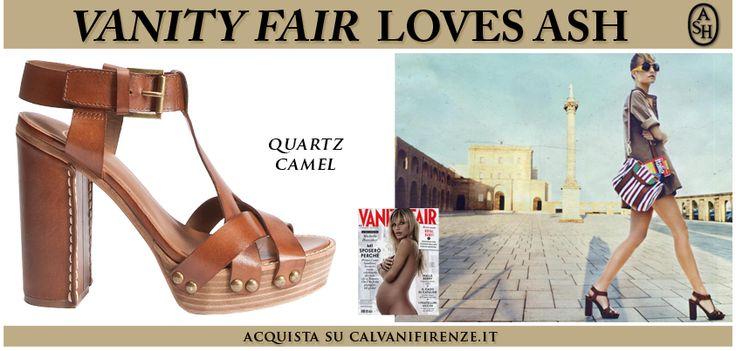 Fanno subito venire voglia di #vacanza questi #sandali con #plateau di #Ash, #apparsi in un #meraviglioso #editoriale #estivo di #VanityFair!