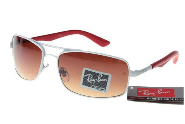 Andre Objectifs Active Lifestyle Lunettes De Soleil Pas Cher Ray Ban RB3459 Rouge Blanc Tawny Hot9193 Soldes