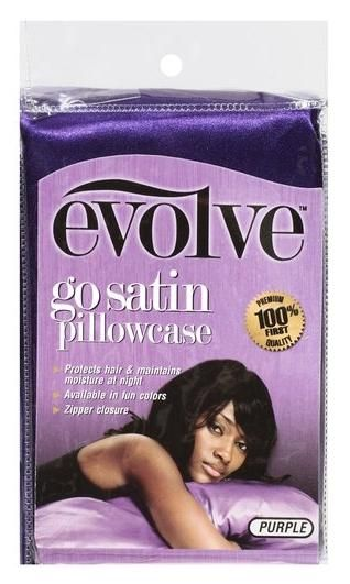 *Satin Pillowcase*  A Must Have for Girls Who Love Their Hair (bought from Sally's Beauty Supply). -JJ.LiveTheDream