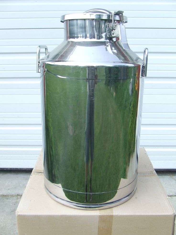 Stainless Steel Milk Can  40 liters (10 gallons) Locking Lid  Dairy Cattle   in carson city....