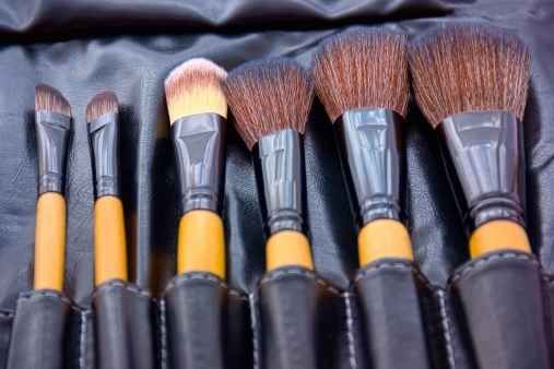 Wash your makeup brushes every couple of months.