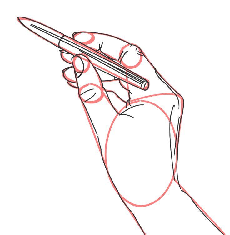 Hände zeichnen Tutorial