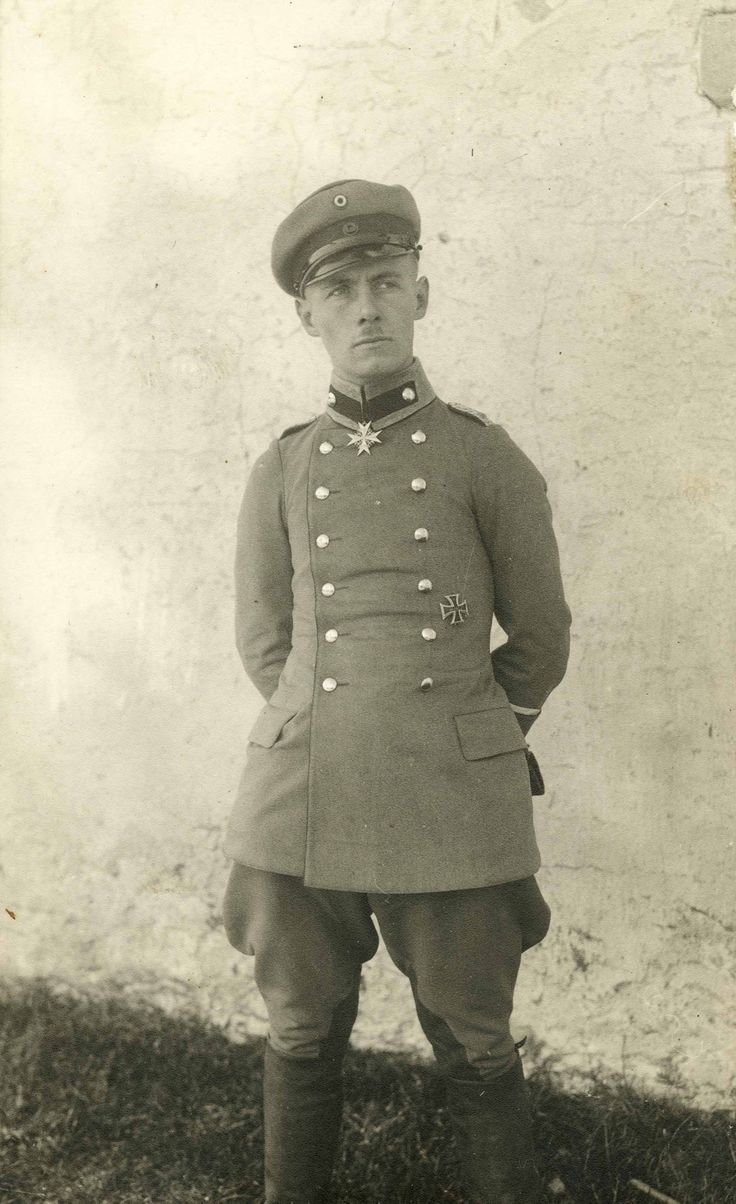 Erwin Rommel as a young Gebirgsjager officer during World War I.