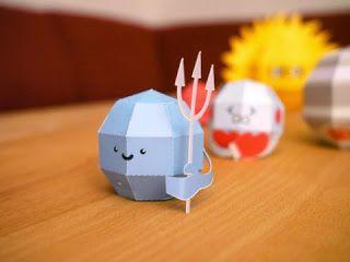 Kerajinan anak, miniatur tata surya (neptunus), ilmu pengetahuan untuk SD