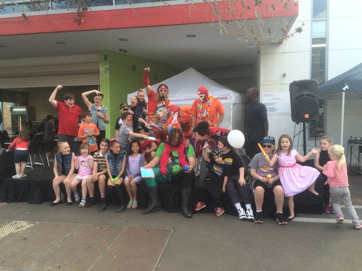 Great times at the St Marys Spring Festival. We hope you guys had a SLAMMING time  To have the Super Wrestling Heroes be a part of your next party or event visit www.superwrestlingheroes.com.au  ARE YOU READY TO PARTY?!