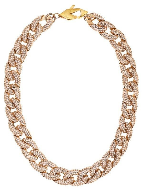 necklace brown polished chain rk tezer link product chunky williamson