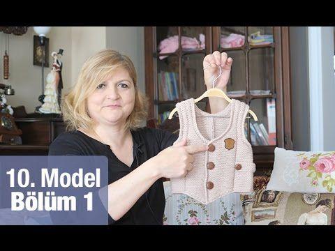 Örgüden Kapşonlu Erkek Bebek Hırkası Detaylı Anlatım | 3. Model (1/5) - YouTube