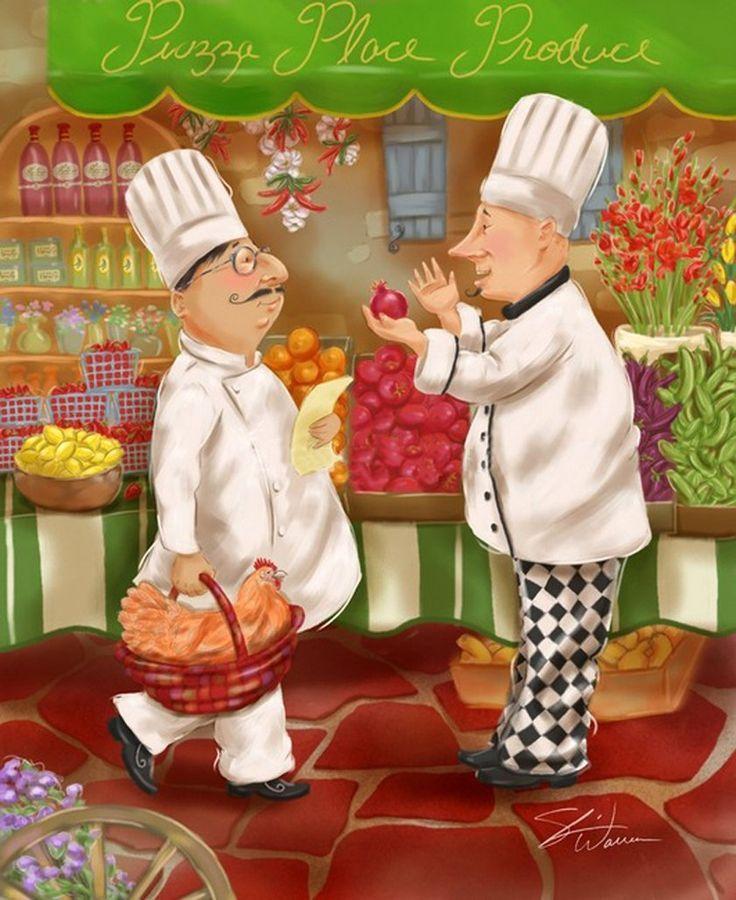 Chef goes shopping III (Shari Warren)